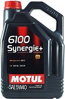Моторное масло Motul 6100 Synergie + 5W40 / 103729 (5л) -