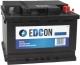 Автомобильный аккумулятор Edcon DC60540L (60 А/ч) -