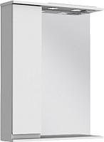 Шкаф с зеркалом для ванной Ювента Monika МШН32-65 (белый, левый) -