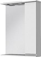 Шкаф с зеркалом для ванной Ювента Monika МШН33-75 (белый, правый) -