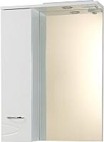 Шкаф с зеркалом для ванной Ювента Рио ШНЗ1-60 (левый) -