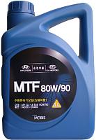 Трансмиссионное масло Hyundai/KIA Mobis 80W90 / 04300-00460 (4л) -