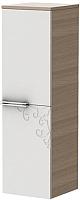 Шкаф-полупенал для ванной Ювента Sofia new СнП-100 (песочный) -