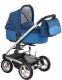 Детская универсальная коляска Bebe Beni Igo 3 в 1 (синий/темно-синий) -