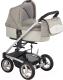 Детская универсальная коляска Bebe Beni Igo 3 в 1 (мокко/бежевый) -