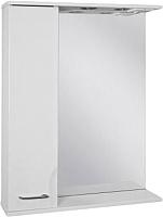 Шкаф с зеркалом для ванной Ювента Франческа ФШН32-65 (белый, левый) -