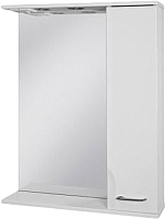 Шкаф с зеркалом для ванной Ювента Франческа ФШН32-65 (белый, правый) -