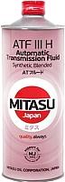 Трансмиссионное масло Mitasu ATF III H Synthetic Blended / MJ-321-1 (1л) -