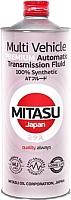 Трансмиссионное масло Mitasu Premium Multi Vehicle / MJ-328-1 (1л) -