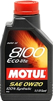 Моторное масло Motul 8100 Eco-lite 0W20 / 104981 (1л) -