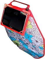 Накидка на автомобильное сиденье ТрендБай Лэйнин Пэд 1103 (синяя клетка) -