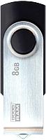 Usb flash накопитель Goodram UTS3 8GB (черный) (UTS3-0080K0R11) -