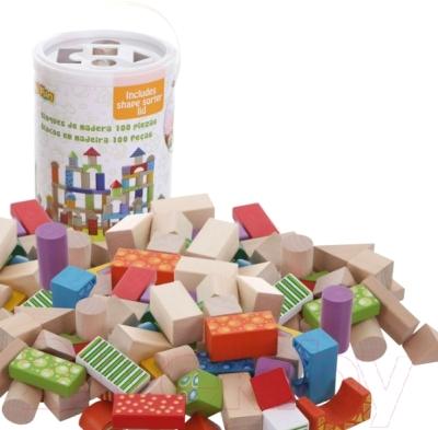 Развивающая игрушка Eco Toys 100 кубиков 2007