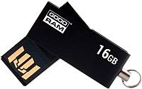 Usb flash накопитель Goodram UCU2 16GB (черный) (UCU2-0160K0R11) -