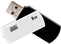 Usb flash накопитель Goodram UC02 8GB (черный/белый) (UCO2-0080KWR11) -