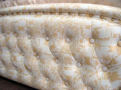Двуспальная кровать Королевство сна C0855D 180х200 (империал) - кожаная обивка