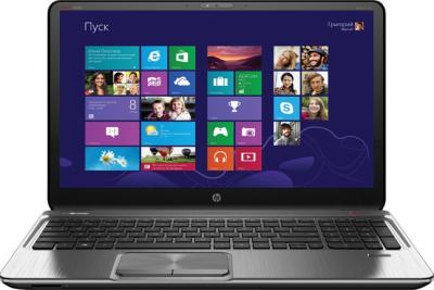 Ноутбук HP ENVY m6-1201er (D2G26EA) - фронтальный вид