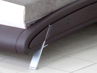 Двуспальная кровать Королевство сна K6662 160х200 (темно-коричневая) - детальное изображение