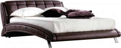 Двуспальная кровать Королевство сна K6662 160х200 (темно-коричневая) - общий вид