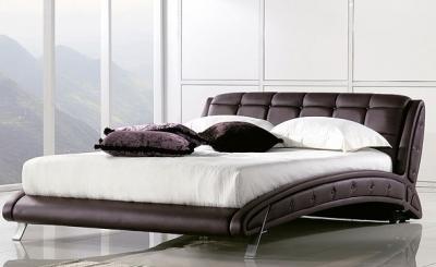 Двуспальная кровать Королевство сна K6662 180x200 (темно-коричневый) - в интерьере