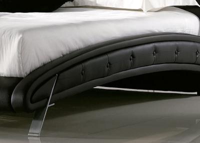 Двуспальная кровать Королевство сна K6662 180х200 (черная) - детальное изображение
