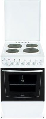 Кухонная плита Nord ЭП-4.01 White - общий вид