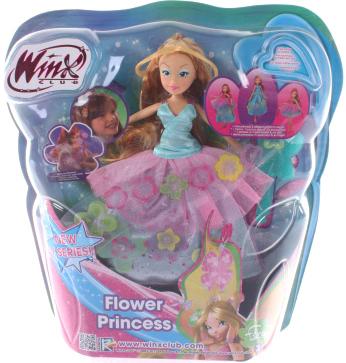 "Кукла Witty Toys Winx Club ""Принцесса цветов"" Флора (Flora) - упаковка"