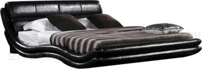 Двуспальная кровать Королевство сна K1377 160х200 (черная) - общий вид