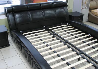 Двуспальная кровать Королевство сна W016 160х200 (черная) - основание