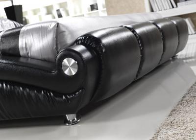 Двуспальная кровать Королевство сна W016 160х200 (черная) - детальное изображение