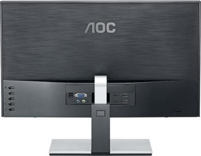 Монитор AOC d2367Ph - вид сзади