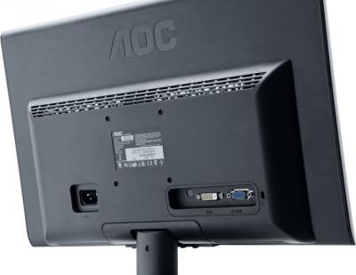 Монитор AOC E2350SDA - вид сзади
