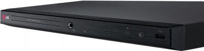 DVD-плеер LG DVX632K - вид сбоку