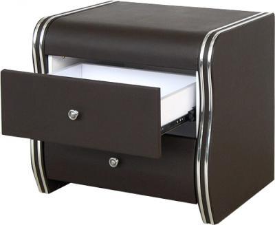 Прикроватная тумба Королевство сна 43NS (коричневая) - общий вид