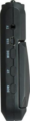 Автомобильный видеорегистратор TeXet DVR-101HD (Black) - вид сбоку