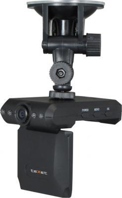 Автомобильный видеорегистратор TeXet DVR-101HD (Black) - общий вид