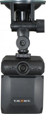 Автомобильный видеорегистратор TeXet DVR-101HD (Black) - фронтальный вид
