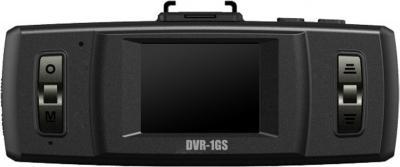 Автомобильный видеорегистратор TeXet DVR-1GS (Black) - дисплей