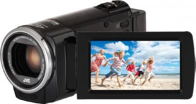 Видеокамера JVC GZ-E305 Black - экран