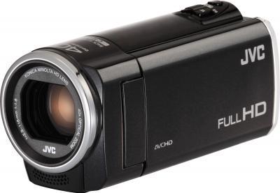 Видеокамера JVC GZ-E305 Black - общий вид
