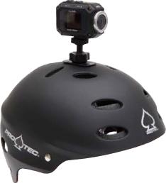 Видеокамера JVC GC-XA1 - крепление на шлем