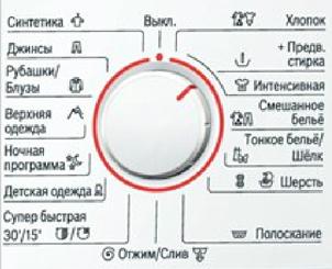 Стиральная машина Bosch WAB24272CE - программы