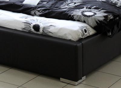 Двуспальная кровать Королевство сна Casa 160x200 (темно-коричневая, с основанием) - детальное изображение