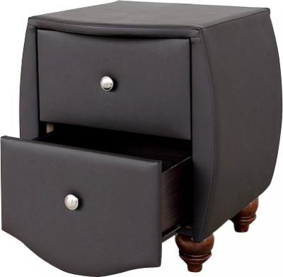 Прикроватная тумба Королевство сна Insigne (темно-коричневая) - общий вид