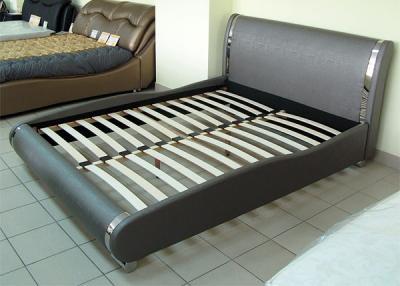 Двуспальная кровать Королевство сна Afrodita 160x200 (серая, с подъемным механизмом) - основание с подъемным механизмом