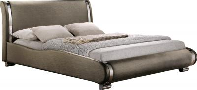 Двуспальная кровать Королевство сна Afrodita 160x200 (серая, с подъемным механизмом) - общий вид