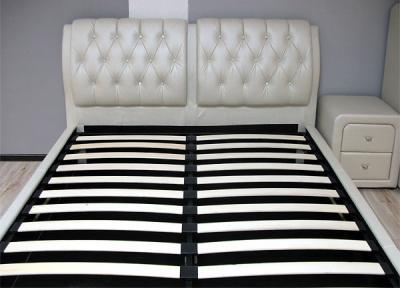 Двуспальная кровать Королевство сна Sophia 160x200 (жемчужная) - основание