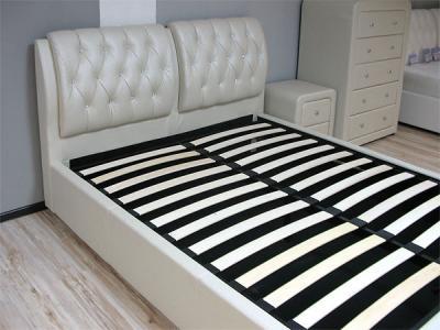 Двуспальная кровать Королевство сна Sophia 180x200 (жемчужная, подъемный механизм) - основание с подъемным механизмом