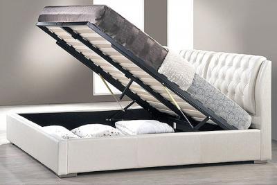 Кровать Королевство сна Sophia 160x200 (белая, с подъемным механизмом) - подъемный механизм