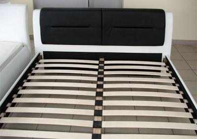 Двуспальная кровать Королевство сна Chello 160x200 (черно-белая) - основание